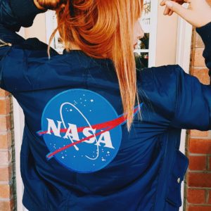 I leveled up my jacket with a patch from nasahellip