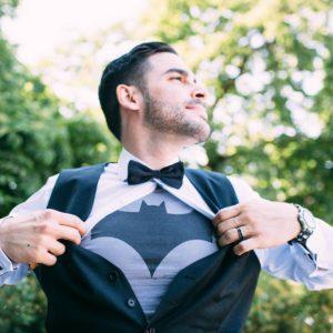 I am The Batman derossiweddingfever derossiweddingforever groom